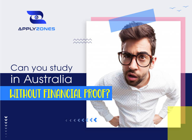 Can you study abroad without financial proof?