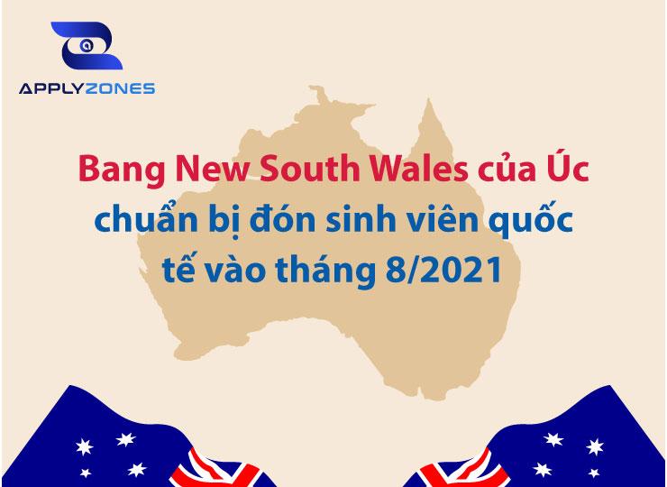 bang New South Wales mở cửa đón du học sinh Úc vào tháng 8 năm 2021