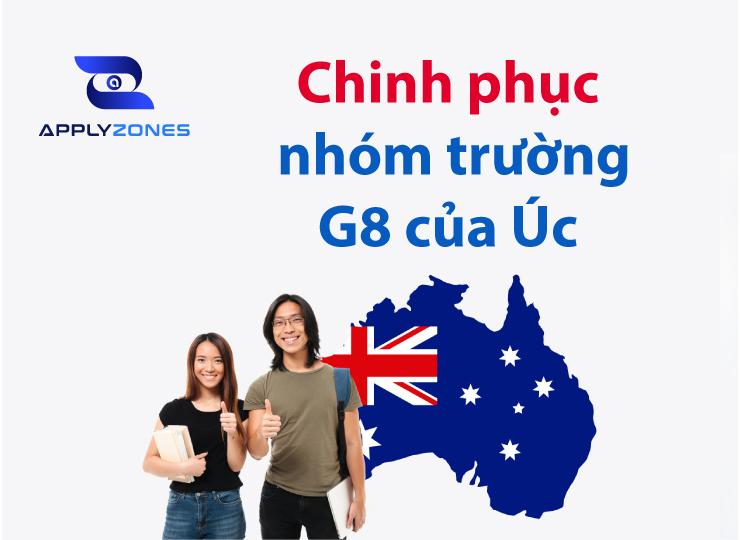 Du học Úc nhóm trường G8