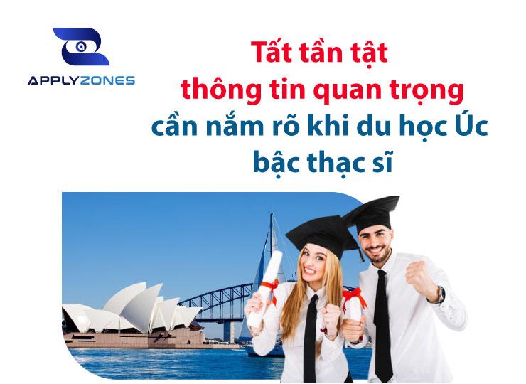 Du học Úc bậc thạc sĩ