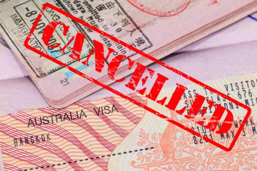 Bị từ chối Visa ở Úc