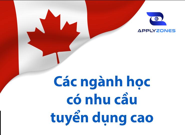 Rất nhiều ngành có nhu cầu tuyển dụng cao tại Canada