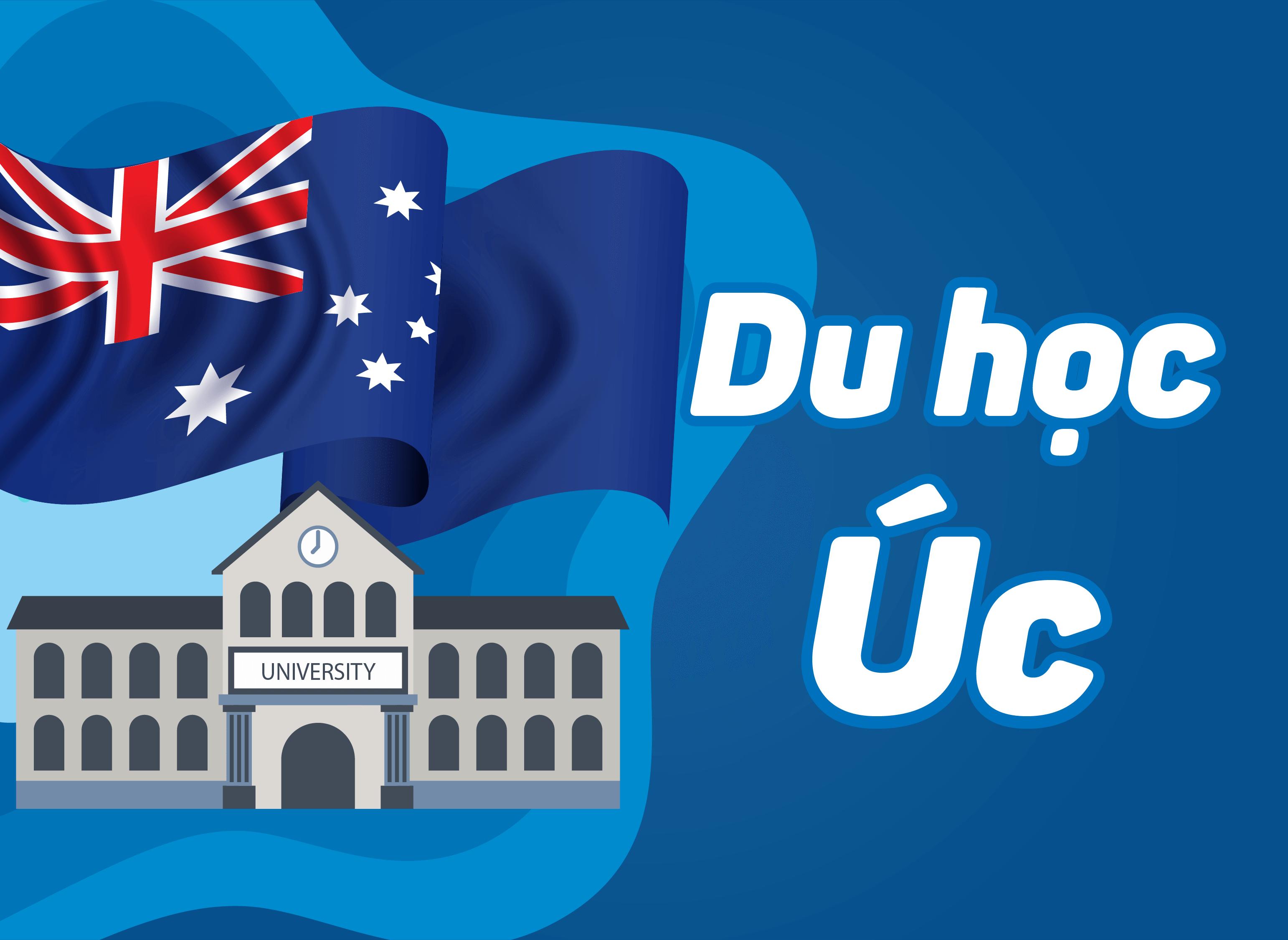 Du học Úc là niềm mơ ước của nhiều bạn sinh viên