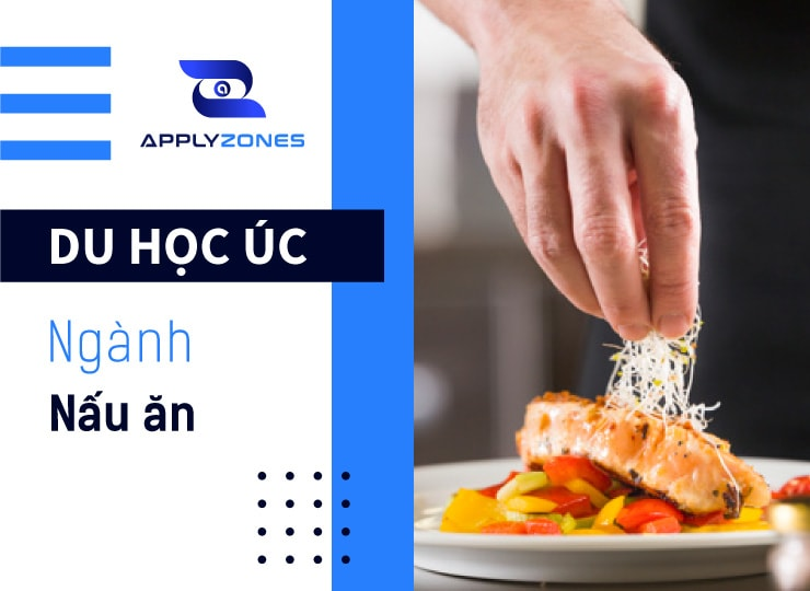 Du học Úc ngành nấu ăn