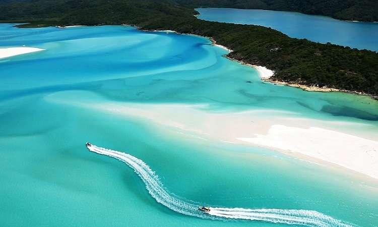 Whitehaven bãi biển thiên đường thuộc top thế giới
