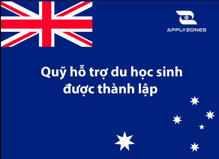 Lập quỹ hỗ trợ du học sinh Úc