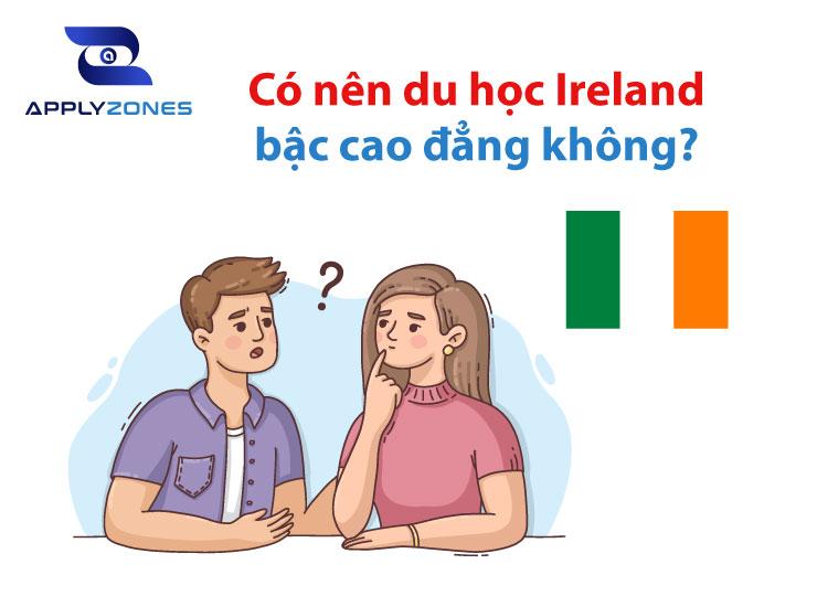 Thông tin tổng quan về du học Ireland bậc cao đẳng