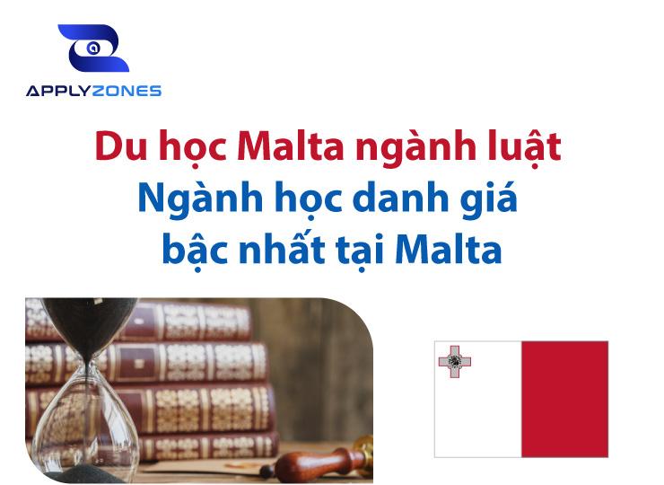 Du học Malta ngành luật