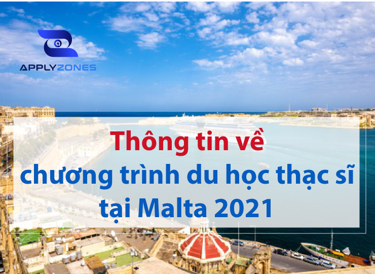 chương trình du học thạc sĩ tại Malta 2021