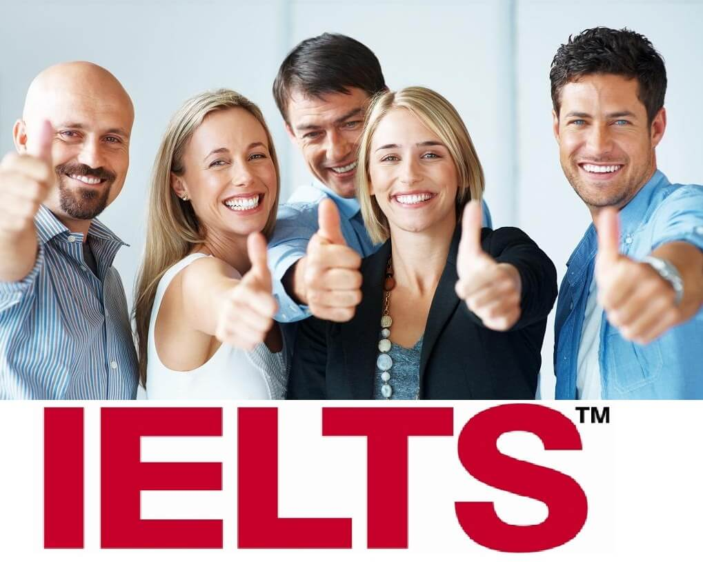 Depending on the education level, the corresponding IELTS score is required