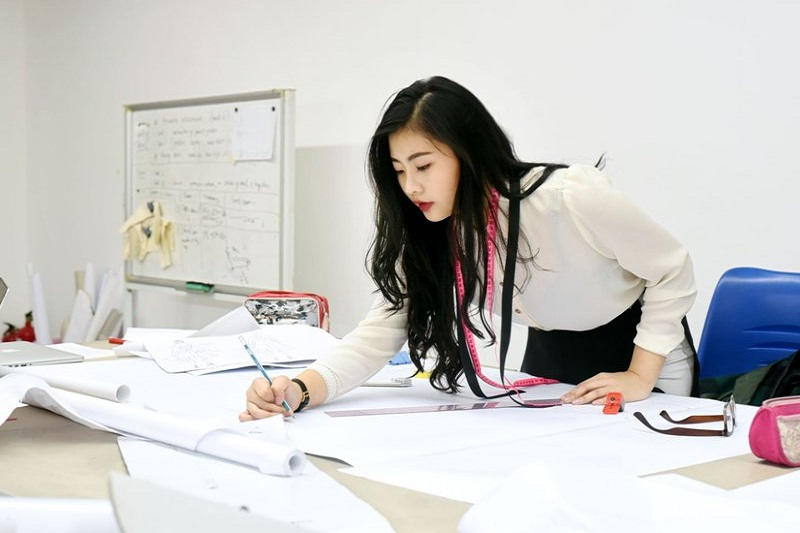 Studying fashion design in Korea
