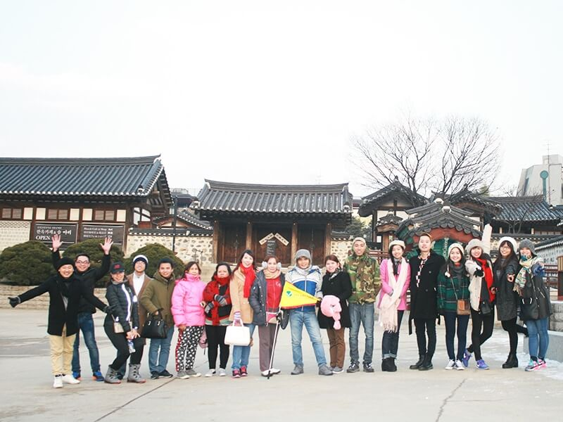 The tourism industry in Korea is very developed