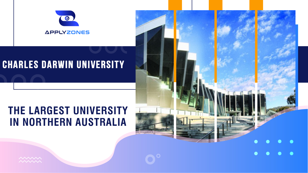 Charles Darwin University - the largest university in Northern Australia